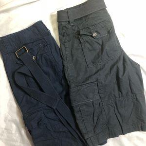 2 Pair Men's Shorts
